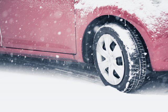 雪道でのトラブル